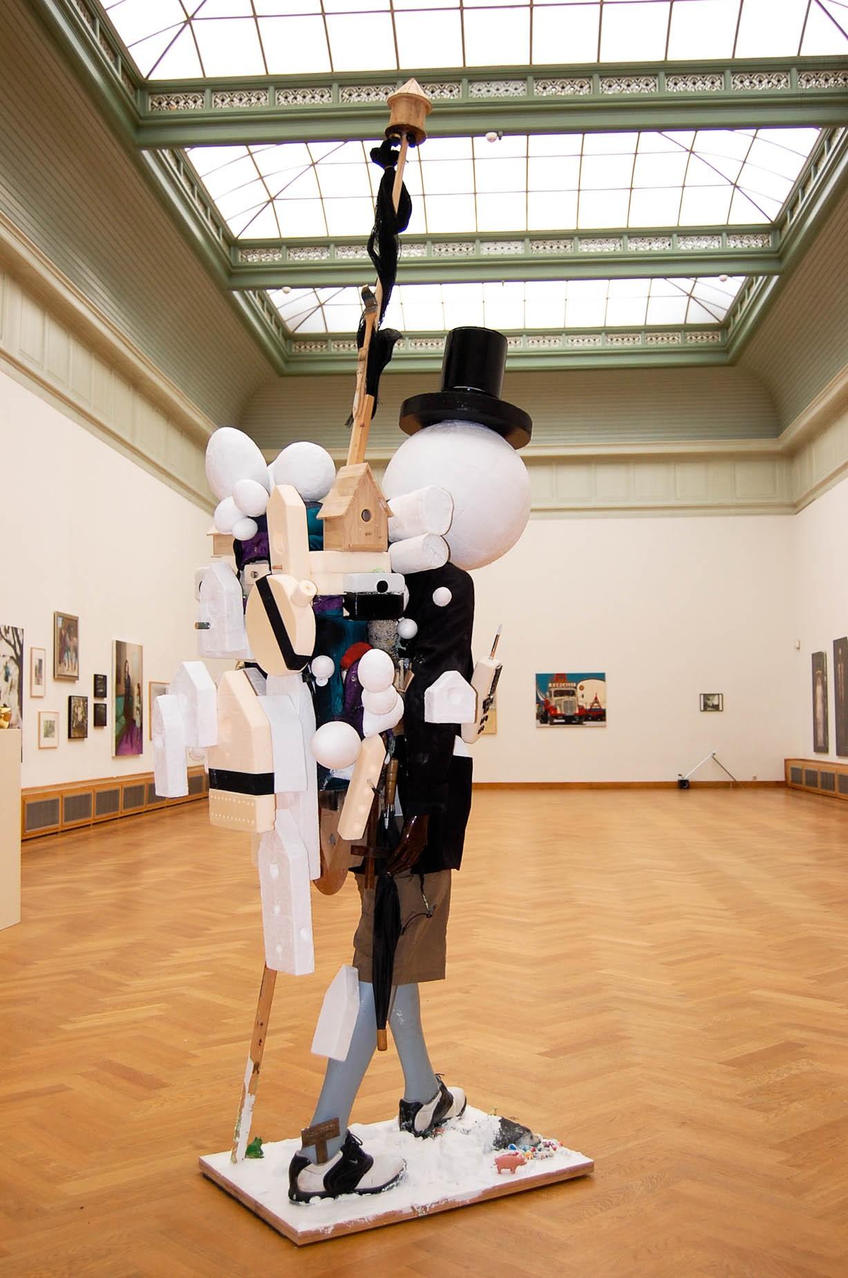 itund, artist, sculpture